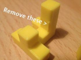 自制益智积木拼图